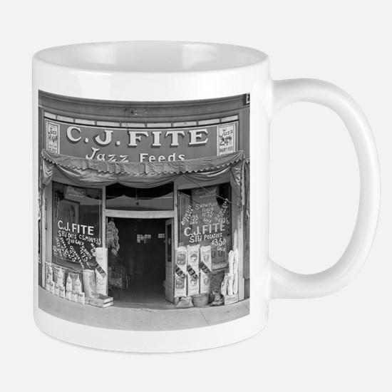 Small Town Feed Store, 1936 Mugs