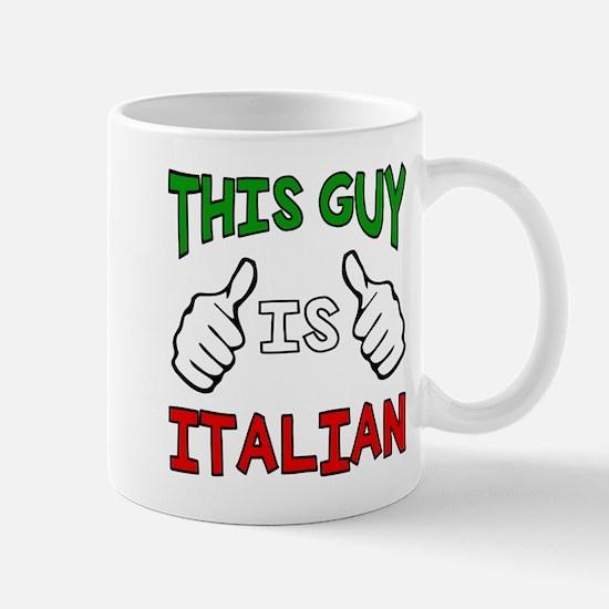 This guy is Italian Mugs