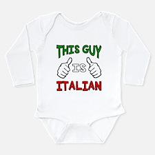 This guy is Italian Body Suit
