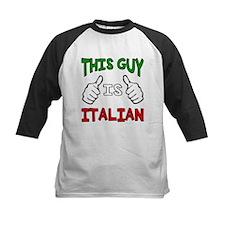 This guy is Italian Baseball Jersey
