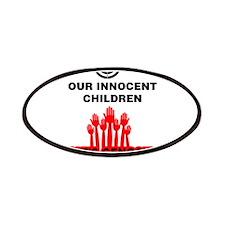 Don't Shoot Children Patches