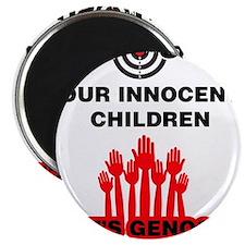 Don't Shoot Children Magnets