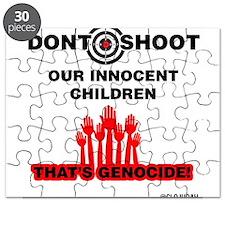 Don't Shoot Children Puzzle