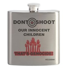 Don't Shoot Children Flask