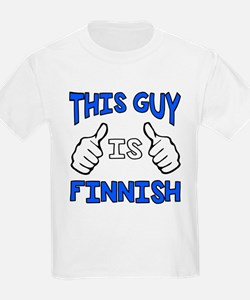 This guy is Finnish T-Shirt