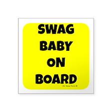 Swag Baby On Board Sticker