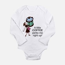 FIN-coffee-perks-me-up.png Long Sleeve Infant Body
