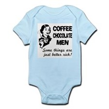 FIN-coffee-chocolate-men.png Infant Bodysuit