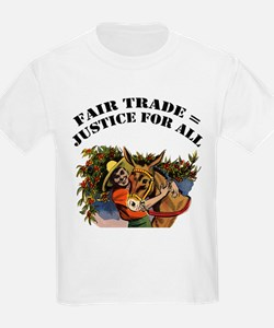 FIN-fair-trade-justice.png T-Shirt