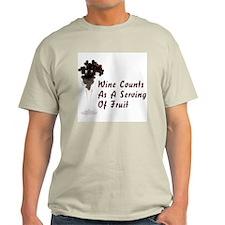 FIN-wine-serving-fruit.png Light T-Shirt