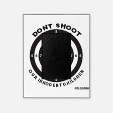 Don't Shoot Children Bullseye Picture Frame