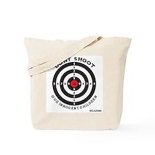 Don't Shoot Children Bullseye Tote Bag