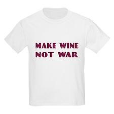 FIN-make-wine-war-4LINES.png T-Shirt