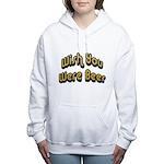 FIN-wish-you-beer.png Women's Hooded Sweatshirt
