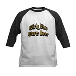 FIN-wish-you-beer.png Kids Baseball Jersey