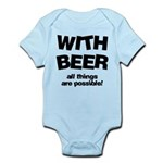 FIN-beer-all-things... Infant Bodysuit
