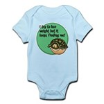 FIN-lose-weight-finding-WonB.png Infant Bodysuit