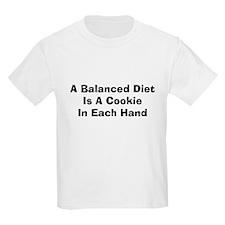 FIN-balanced-diet-cookie.png T-Shirt