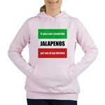 jalapenos-mexico.png Women's Hooded Sweatshirt