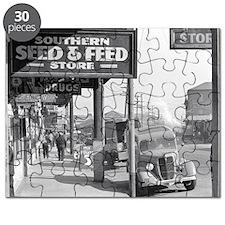 New Orleans Sidewalk, 1935 Puzzle