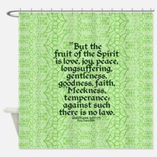 Fruit of the Spirit Shower Curtain