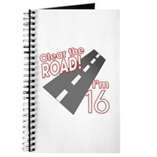 Clear the Road I'm 16 Journal