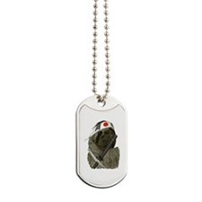 Samurai Sloth Dog Tags