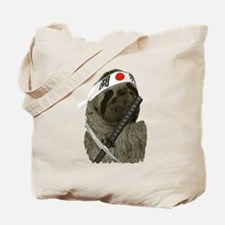 Samurai Sloth Tote Bag