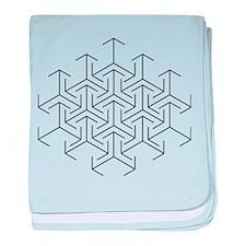 Unique Geometry baby blanket