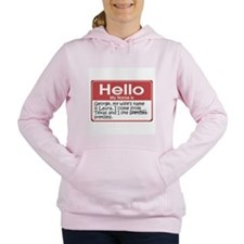 my-name-is-george-1... Women's Hooded Sweatshirt