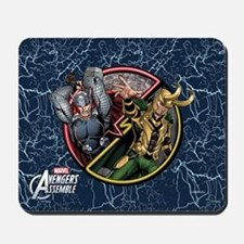 Thor vs Loki Mousepad