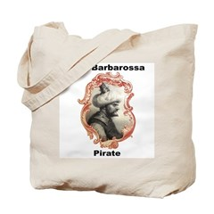 Aruj Barbarossa Pirate Tote Bag