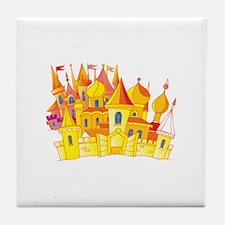 Royal Castle Building Tile Coaster