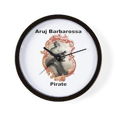 Aruj Barbarossa Pirate Wall Clock