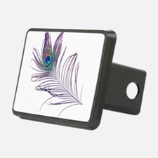 PEACOCK FEATHER Hitch Cover