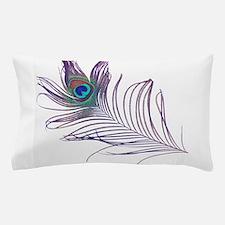 PEACOCK FEATHER Pillow Case