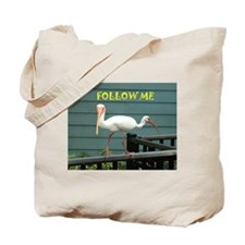 Both Ways Bird Tote Bag