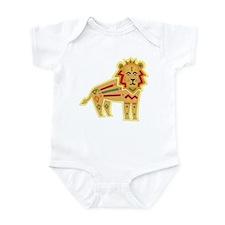 Colorful Ethnic Lion Onesie
