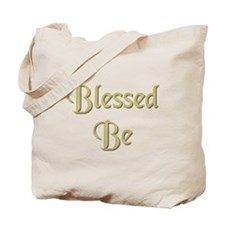 Blessed Be Gold Tote Bag