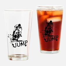 EQUESTRIAN JUMP Drinking Glass