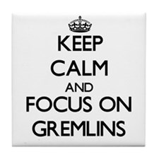 Cute Gremlins the movie Tile Coaster
