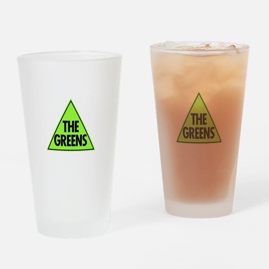 Green Party Logo Drinking Glass