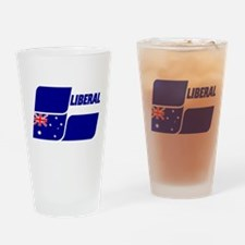 Liberal Party Logo Drinking Glass