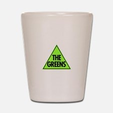Green Party Logo Shot Glass