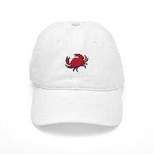 Red Crab Baseball Baseball Cap