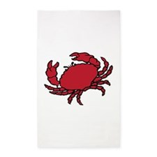 Red Crab 3'x5' Area Rug