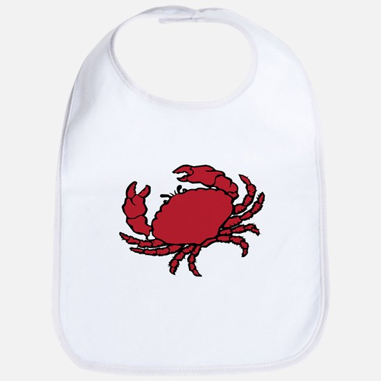 Red Crab Bib