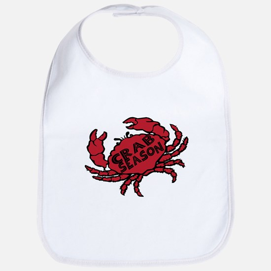 Crab Season Bib