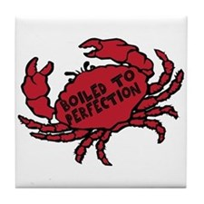 Boiled to Perfection Tile Coaster