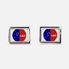 Labor Party Logo Rectangular Cufflinks
